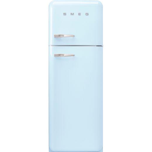 Smeg Right Hand Hinge FAB30RPB5UK 70/30 Fridge Freezer - Pastel Blue - D Rated