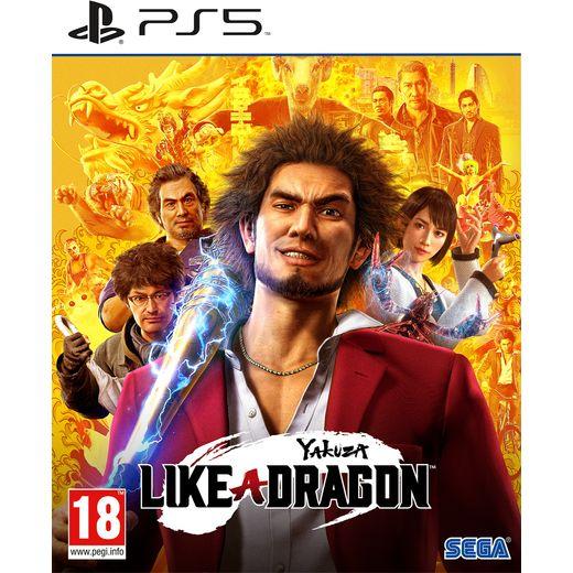 Yakuza : Like a Dragon for PlayStation 5 .