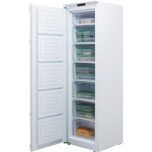 CDA FW881 Integrated Upright Freezer with Sliding Door Fixing Kit - F Rated