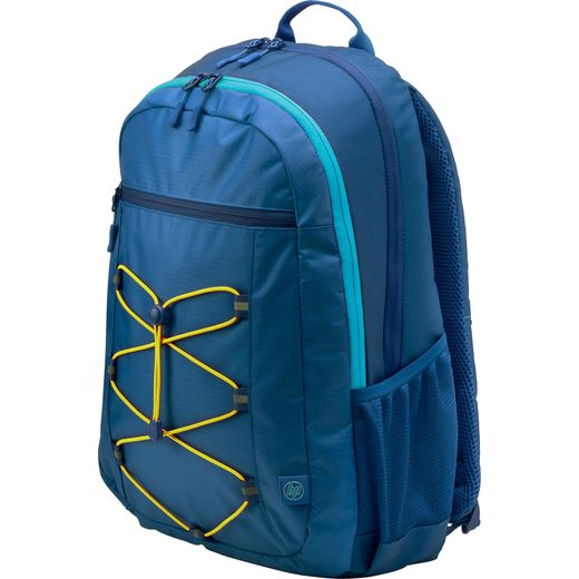 """HP Active Backpack for 15.6"""" Laptop - Yellow / Blue"""