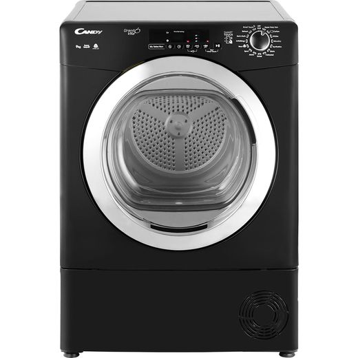Candy Grand'O Vita GVSC9DCGB 9Kg Condenser Tumble Dryer - Black
