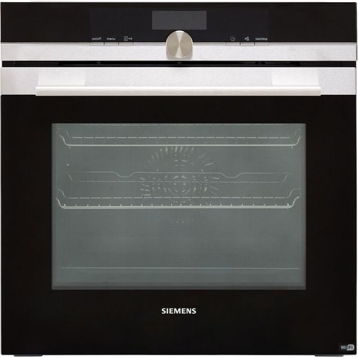 Siemens IQ-700 HB656GBS6B Wifi Connected Built In Electric Single Oven - Stainless Steel - A+ Rated