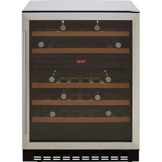 CDA FWC604SS Built Under Wine Cooler - Stainless Steel - G Rated