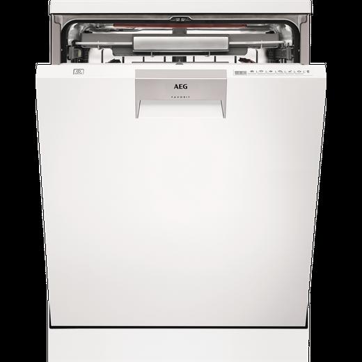 AEG ComfortLift FFE63806PW Standard Dishwasher - White - D Rated