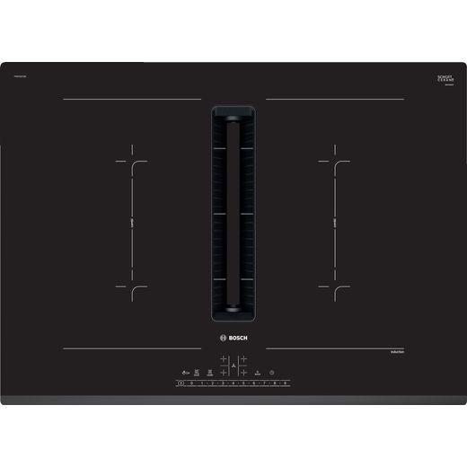 Bosch Serie 6 PVQ731F15E 71cm Venting Induction Hob - Black