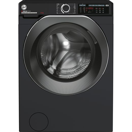 Hoover H-WASH 500 HW414AMBCB/1 Wifi Connected 14Kg Washing Machine with 1400 rpm - Black - A Rated