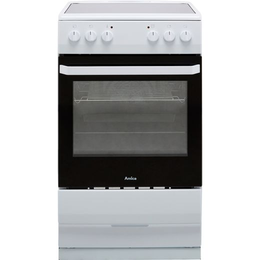 Amica AFC1530WH Electric Cooker - White - Needs 9.5KW Electrical Connection