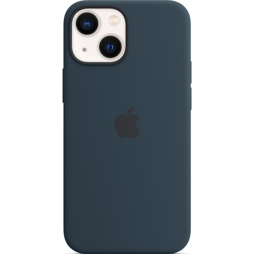 Apple Silicone Case for iPhone 13 Mini - Abyss Blue