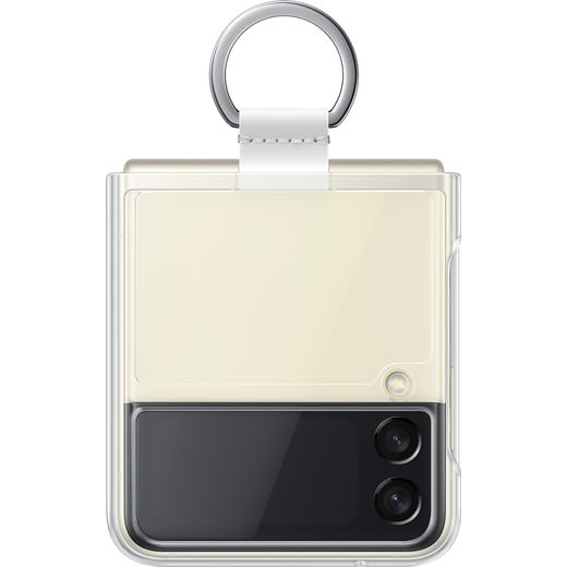 Samsung Clear Case with Ring for Galaxy Z Flip3 5G - Clear