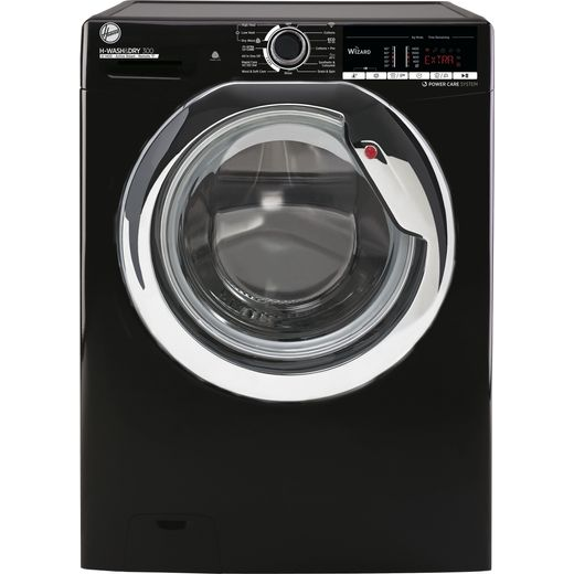 Hoover H-WASH 300 H3D41065TACBE Wifi Connected 10Kg / 6Kg Washer Dryer with 1400 rpm - Black - E Rated