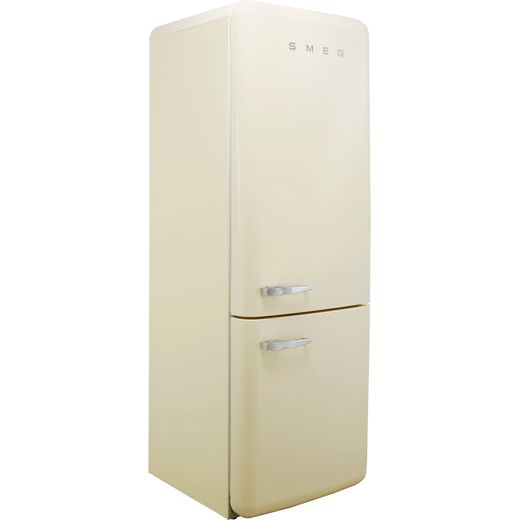 Smeg Right Hand Hinge FAB38RCR 70/30 Frost Free Fridge Freezer - Cream - G Rated