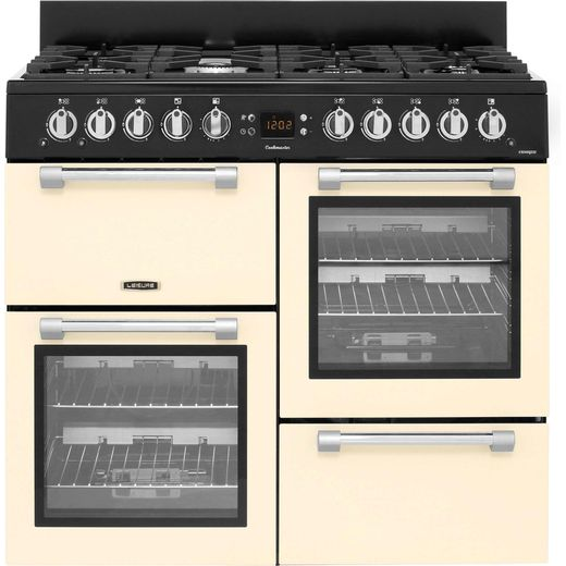Leisure Cookmaster CK100G232C 100cm Gas Range Cooker - Cream - A+/A Rated