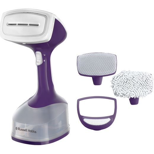 Russell Hobbs 25600 Handheld Garment Steamer - Purple
