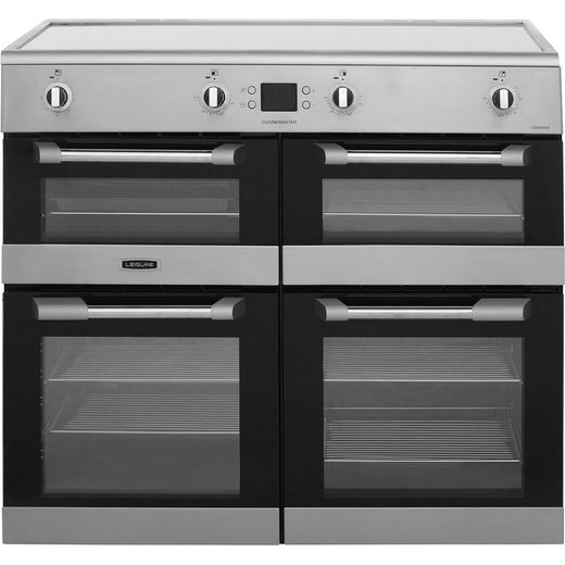 Leisure Cuisinemaster CS100D510X 100cm Electric Range Cooker with Induction Hob - Stainless Steel - A/A Rated