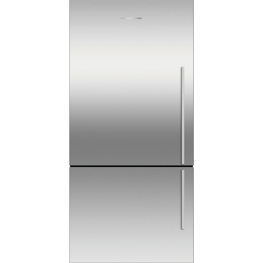 Fisher & Paykel RF522BLXFD5 Frost Free Fridge Freezer - Silver - F Rated