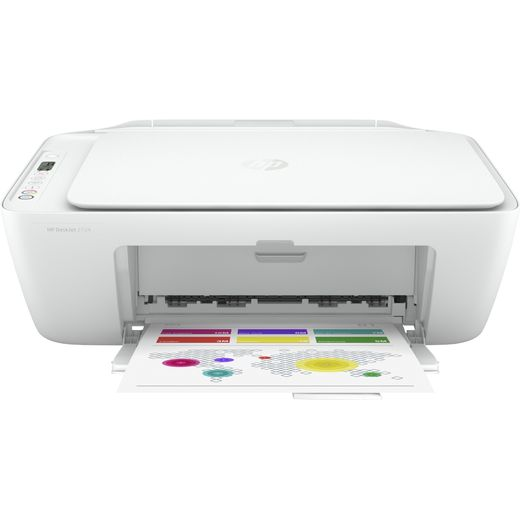 HP Deskjet 2724 Inkjet Printer - White