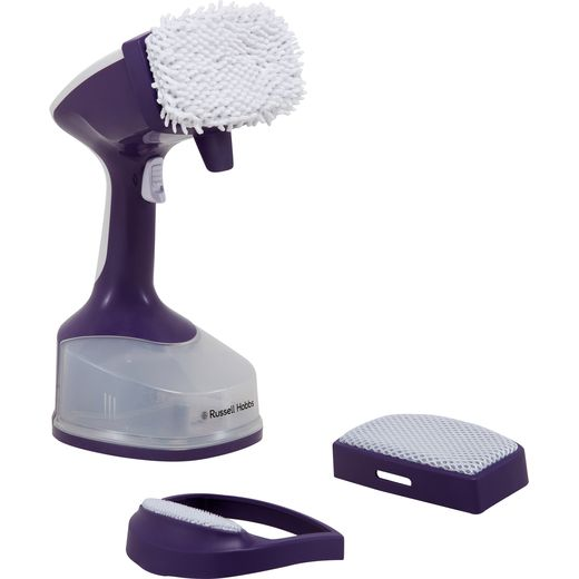 Russell Hobbs 25600 Handheld Garment Steamer - Purple
