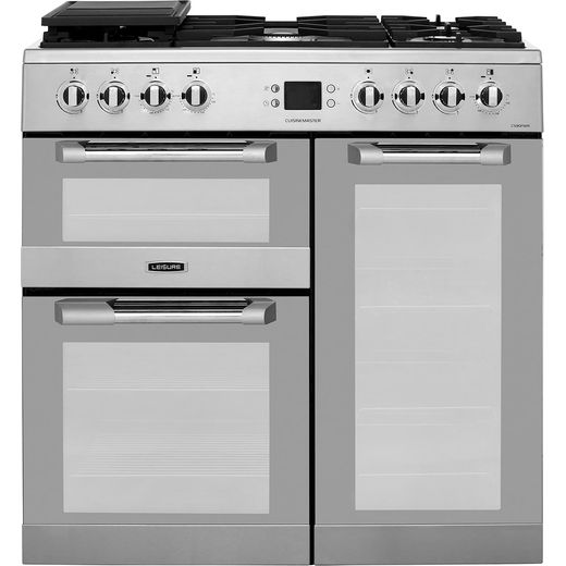 Leisure CS90FMIRX 90cm Dual Fuel Range Cooker - Stainless Steel - A/A Rated