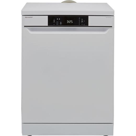 Sharp QW-NA1CF47EW-EN Standard Dishwasher - White - E Rated