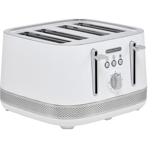 Morphy Richards Illumination 248021 4 Slice Toaster - White