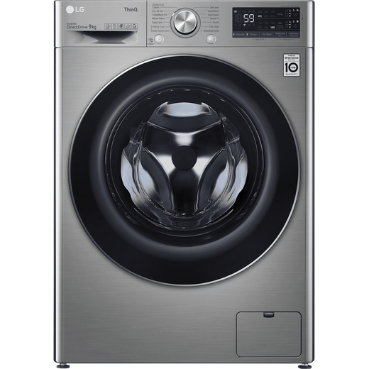 LG V7 F4V709STSA Wifi Connected 9Kg Washing Machine with 1400 rpm - Graphite - B Rated