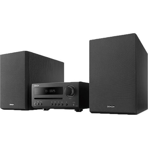 Denon DT1BKE2GB 30 Watt Hi-Fi System with Bluetooth - Black