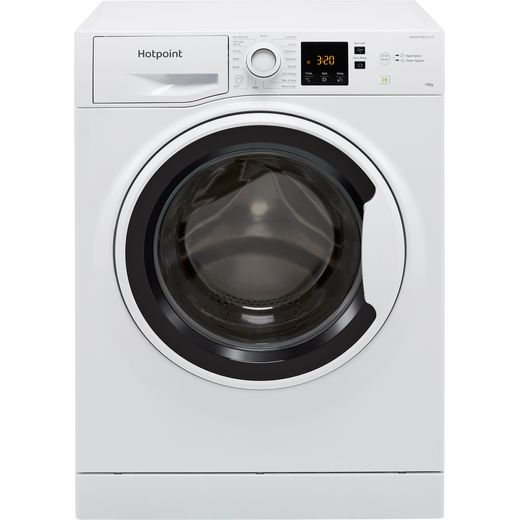 Hotpoint NSWA1043CWWUKN 10Kg Washing Machine with 1400 rpm - White - D Rated