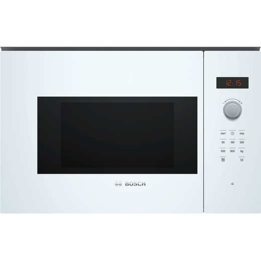 Bosch Serie 4 BFL523MW0B Built In Microwave - White