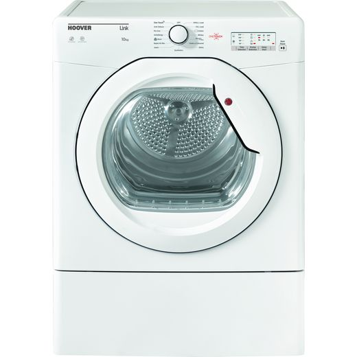 Hoover HLEV10LG 10Kg Vented Tumble Dryer - White - C Rated