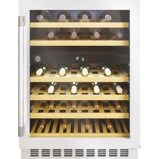 Hoover HWCB60DUKSSM/N Built In Wine Cooler - Stainless Steel - A Rated