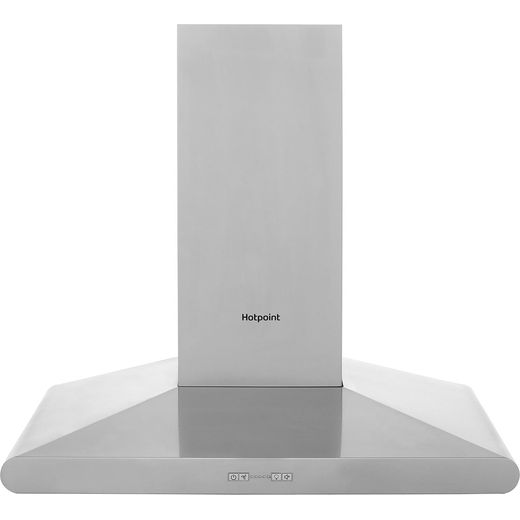 Hotpoint PHC77FLBIX 70 cm Chimney Cooker Hood - Stainless Steel - B Rated
