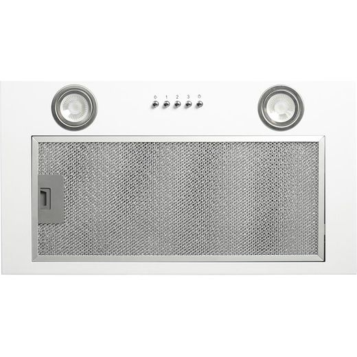 CDA CCA52WH 50 cm Canopy Cooker Hood - White - B Rated