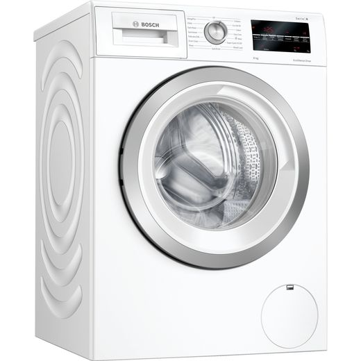 Bosch Serie 6 WAU24T64GB 9Kg Washing Machine with 1200 rpm - White - C Rated