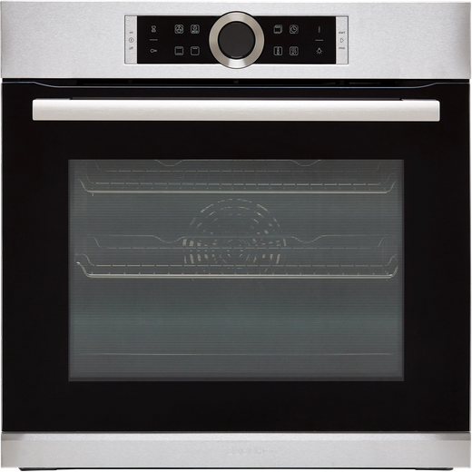 Bosch Serie 8 HBG634BS1B Built In Electric Single Oven - Stainless Steel