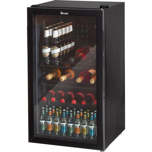 Swan SR12030BN Wine Cooler - Black - E Rated