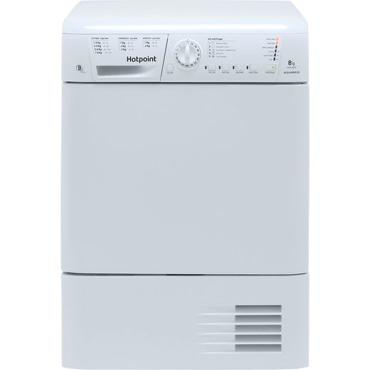 Hotpoint TCHL870BP 8Kg Condenser Tumble Dryer - White