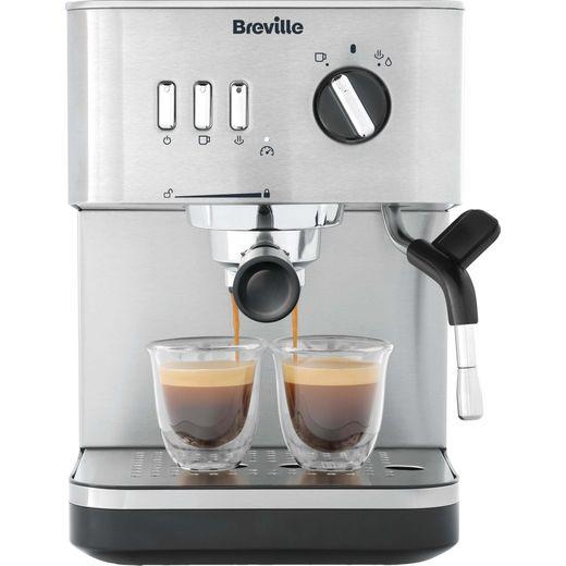 Breville VCF149 Espresso Coffee Machine - Silver
