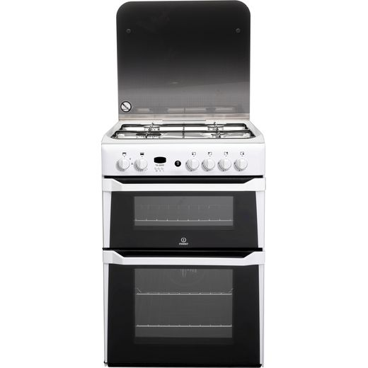 Indesit Advance ID60G2W Gas Cooker - White