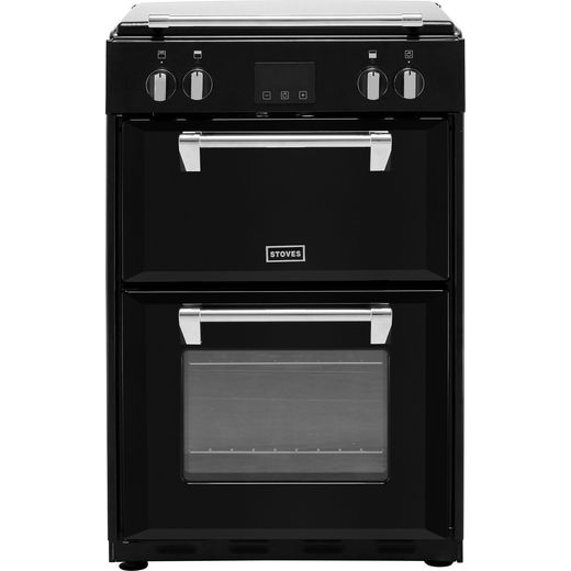 Stoves Richmond600Ei Electric Cooker - Black - Needs 12.4KW Electrical Connection