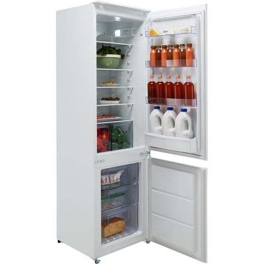 Zanussi ZBB28651SV Integrated 70/30 Frost Free Fridge Freezer with Sliding Door Fixing Kit - White - G Rated
