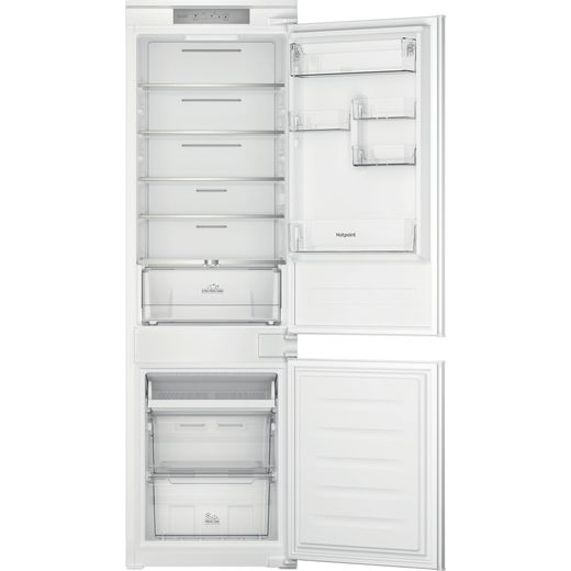 Hotpoint HTC18T311UK Integrated Frost Free Fridge Freezer - White - F Rated