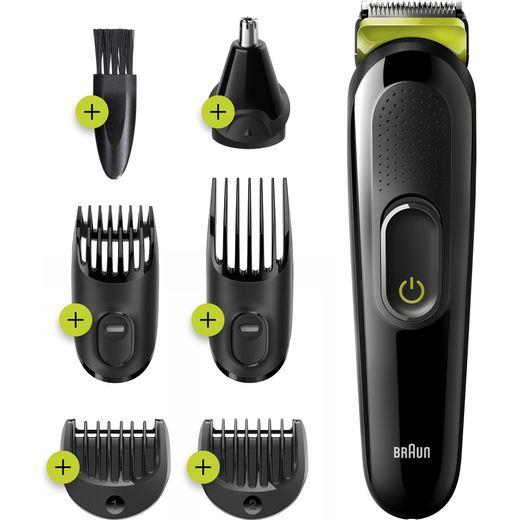 Braun All-in-one Trimmer 3 Multi Groomer Black / Green