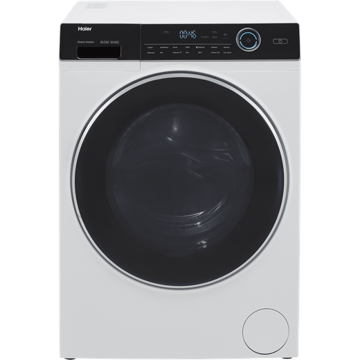 Haier i-Pro series 7 HW120-B14979 12Kg Washing Machine with 1400 rpm - White - A Rated