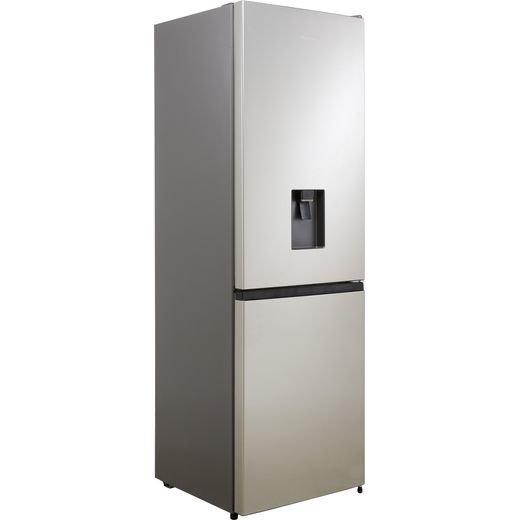 Hisense RB390N4WC1 60/40 Frost Free Fridge Freezer - Stainless Steel - F Rated