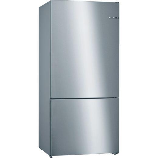 Bosch Serie 4 KGN864IFA 80/20 Frost Free Fridge Freezer - Stainless Steel Effect - F Rated