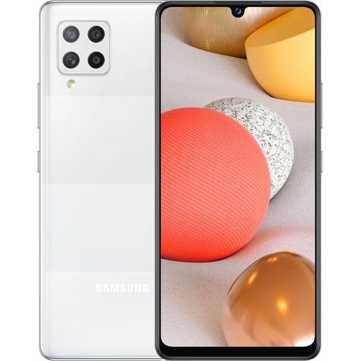 Samsung Galaxy A42 5G 128 Smartphone in Prism Dot White