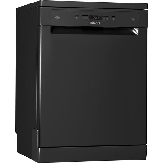 Hotpoint HFC3C26WCBUK Standard Dishwasher - Black - A++ Rated