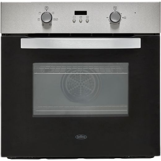 Belling BI602F Built In Electric Single Oven - Stainless Steel - A Rated