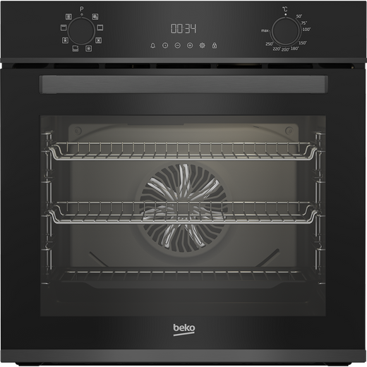 Beko AeroPerfect™ BBXIM17300DX Built In Electric Single Oven - Dark Steel - A Rated