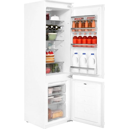 Amica BK316.3FA Integrated 70/30 Frost Free Fridge Freezer with Sliding Door Fixing Kit - White - F Rated